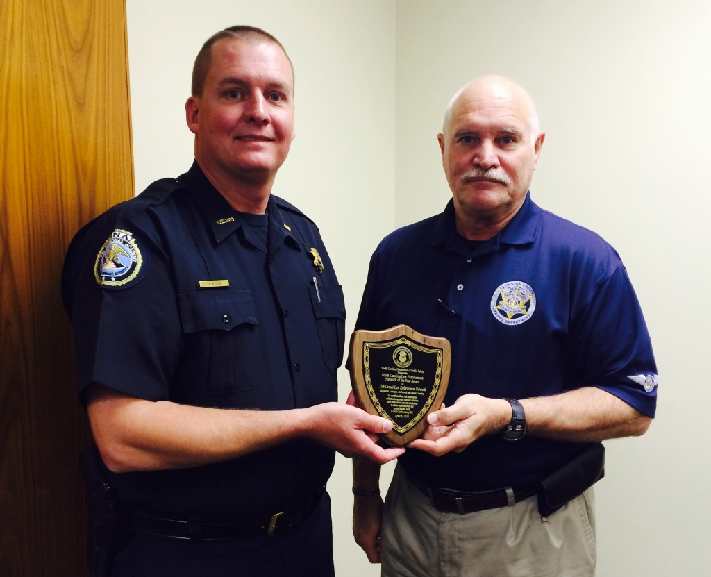 LCSD Recognized For DUI Enforcement Efforts Lexington