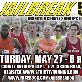 Jailbreak 5K Run & Walk set for May 27