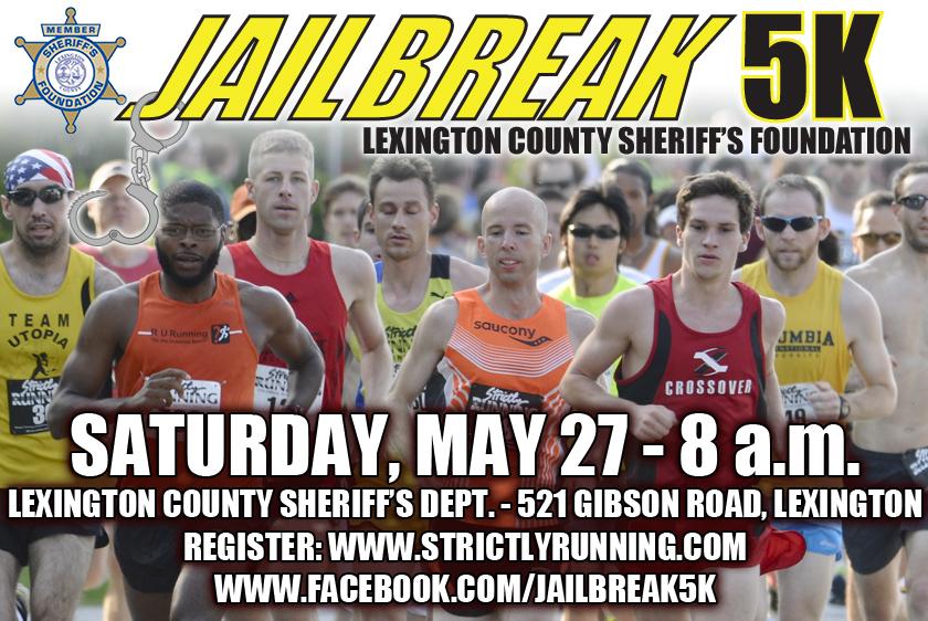 Jailbreak 5K Run & Walk set for May 27 - Lexington County