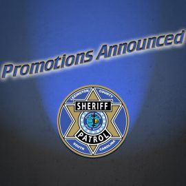 Lexington County Sheriff's Department announces promotions and transfers