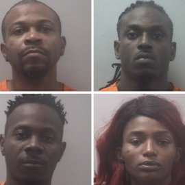 4 arrested on drugs, weapons charges