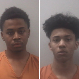 Teens arrested, found with stolen items from car break-ins after pursuit