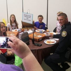 VIDEO: Student picks SRO for pizza party