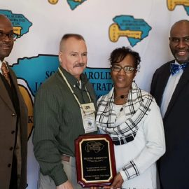 LCSD correctional officer receives award from state detention group